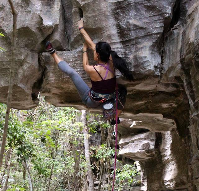 A sapatilha Blackwing da Five Ten tem ótima performance em boulders, escalada em rocha ou indoor,