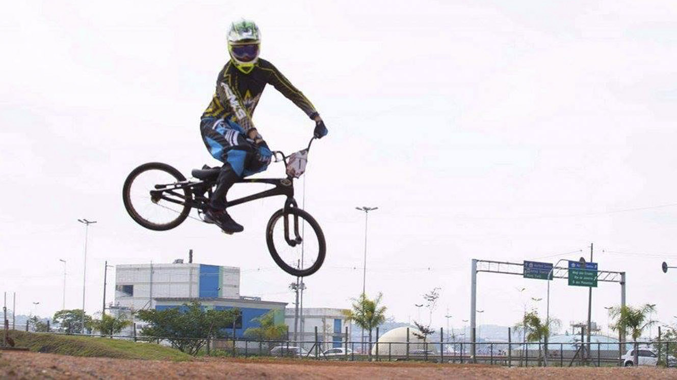 BMX – Treino na pista do Jacuí