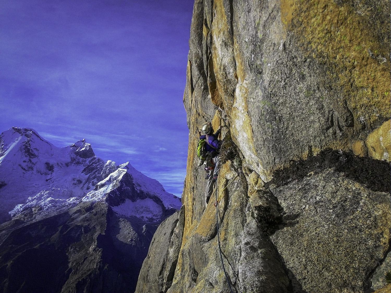 Escalada no ar rarefeito: a conquista do pico La Esfinge