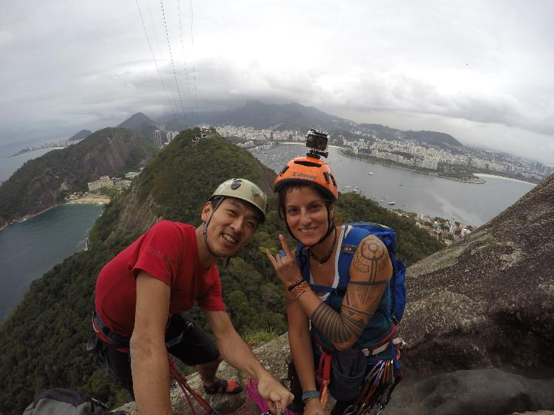 Sonho de escalador: conquistando o Pão de Açucar pela primeira vez