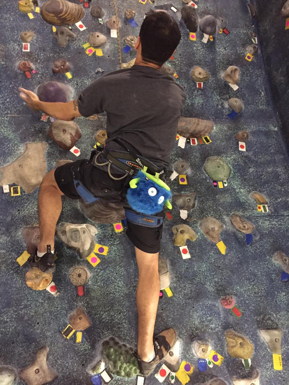 Como voltar à rotina de escalada depois de uma lesão?